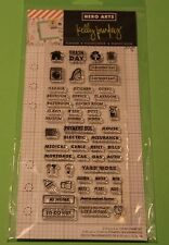 Hero Arts clear acrylic stamps Kelly Purkey Home Planner
