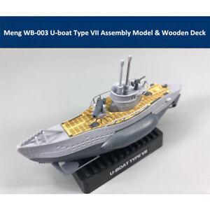 Meng WB-003 U-boat Type VII Q Edition Plastic Assembly Model Kit & Wooden Deck