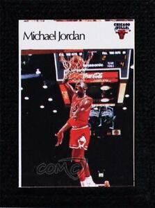 1986 Super Canasta NBA Stickers Michael Jordan HOF