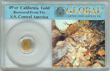 49'er CALIFORNIA GOLD DUST RECOVERED FROM THE SS CENTRAL AMERICA SHIPWRECK