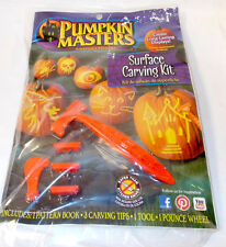 Pumpkin Masters Surface Carving Kit NIP