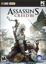 Assassin's Creed III 3 PC Brand New Sealed Fast Shipping XP/Vista/7/8