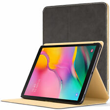Samsung Galaxy Tab A 10.1 2019 Cover Case Stand | Grey + Stylus Protector