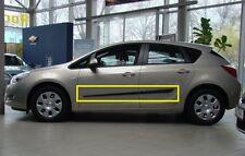 Body Side Mouldings Door Molding Protector Trim for Opel Astra J 5D 4D 2009-2015