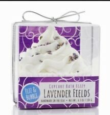 Fizz and Bubble Lavender Fields Fizzy Bath Cupcake/Bubble Bath Frosting 6.5 oz