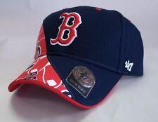 Boston Red Sox 47 Brand Wedge MVP Adjustable Hat Baseball Cap