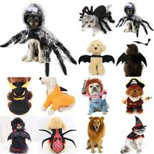 Lion Chunky Halloween Scary Dog Costumes Funny Pet Clothes Cosplay Clothing Sets