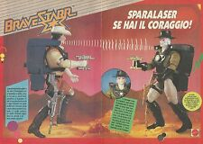 X9545 Marshal BraveStarr - Sparalaser - Pubblicità 1989 - Advertising
