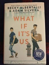 What If It's Us LGBT Hardcover By Becky Albertalli, Adam Silvera