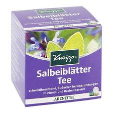 Kneipp Herbal Tea; SAGE ( mouth/throat) -10 tea bags - Made in Germany