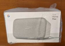 Google Home Max Speaker - Chalk (White) - FACTORY SEALED, NEVER OPENED or USED