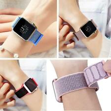 Replacement Strap Band Nylon Sport Loop for iWatch Series 5 4 3 2 1 38/42/40/44