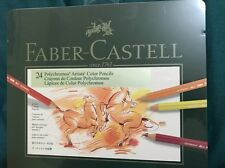 Colour Pencil Polychromos set of 24 colors Faber Castell New!
