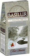 BASILUR TEA - WINTER TEA - 100% PURE CEYLON BLACK TEA WITH CRANBERRY X 100G