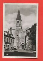 TOURNUS - L'abbaye et les tours de la Grande Porte   (J4659)