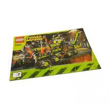 1x Lego Manual de Instrucciones A4 Libro 2 Poder Miners Bohrstation Coche 8964