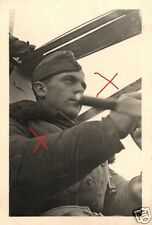 20861/ Originalfoto 9,5x6,5cm, Pilot im Cockpit He 111