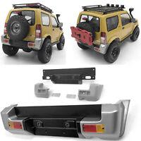 Simulation Metal Rear Bumper & LED Lights Lamp Assembly for MST JIMNY RC Car