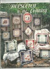 CROSS STITCH BOOK - HOPSCOTCH TO THE COUNTRY