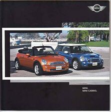 2005 MINI & MINI CABRIO 14p International Market Brochure by BMW