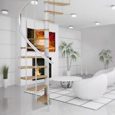 Dolle Calgary White Loft Spiral Staircase Kit 1200mm Diameter (In Stock)