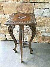 Antique Chipwork  Wooden Plant Stand
