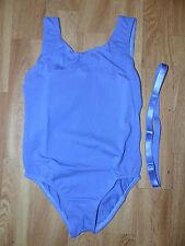 Neuer Roch Valley Ballettanzug Gymnastikanzug Trikot Gr.122-126 cm Lila NEU/OVP