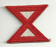 WWII Original US Army 10th Tenth Army SSI Patch