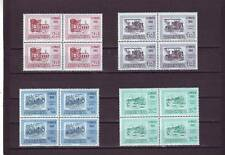 a131 - ARGENTINA - SG982-985 MNH 1960 150th ANNIV REVOLUTION - BLOCKS OF 4