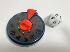 Scattergories Replacement 20 Sided Die and Timer MB Milton Bradley 1988 Game