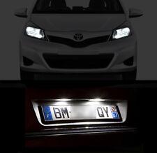 4 ampoules à LED éclairage blanc veilleuses / feux de plaque Toyota Yaris 1 2 3
