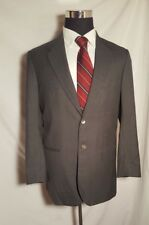 Vitale Barberis Canonico Gray Custom Tailored Blazer Super 130's