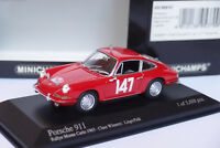 MINICHAMPS PORSCHE 911 #147 MONTE CARLO 1965 1/43