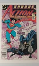 Action Comics Annual #1 Batman/Superman 9.6 NM+ White Pages DC Comics 1987