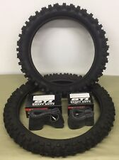 HONDA CRF450R 2002–2008 Kenda Front & Rear Tires w/ Heavy Duty Tubes - Tire Kit