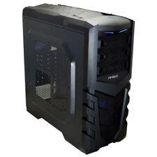 Case Blu ATX mini in acciaio per prodotti informatici