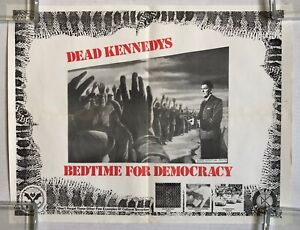 DEAD KENNEDYS Bedtime For Democracy 1986 Alternative Tentacles PROMO POSTER Punk