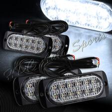 48 LED White Car Truck Emergency Beacon Warn Hazard Flash Strobe Light Universal
