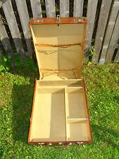 Vintage Wardrobe Suitcase Kleiderschrank Koffer Stuttgart F. Waldbauer Germany