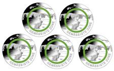 5 x 5 Euro Gedenkmünzen Deutschland 2019 Gemässigte Zone A-J / ADFGJ