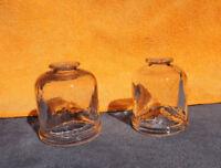 Antique Civil War Era Bloodletting Bleeding Cups Cupping Glasses Medical Doctors