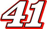 NEW FOR 2018 #41 Kurt Busch Racing Sticker Decal - Sm thru XL - various colors