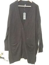 G-Star Women Raw Black Calis Long Cardigan size S Small *