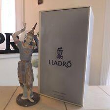 LladrÓ Male Siamese Dancer # 5592 New In Box Mint Rare & Beautiful Fast Ship!