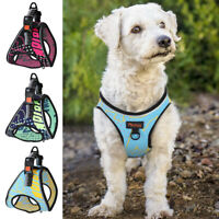 Front Lead Dog Step In Harness Reflective Pet Cat Puppy Walking Vest Adjustable