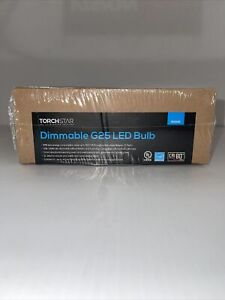 TORCHSTAR Dimmable G25 LED Bulb Globe 500LM 7W/120V =60W 25000HRS Pack of 6