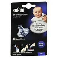 Braun ThermoScan Lens Filters 40 Each  by Vicks