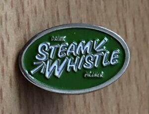 Steam Whistle Canadian Pilsner Brewery Enamel Pin Badge Free UK P & P