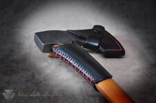 Custom Leather Collar Guard for Gransfors Bruk 418 420 Axe Small Forest Axe