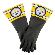 Nfl Pittsburgh Steelers Dish Gloves, Black, Football